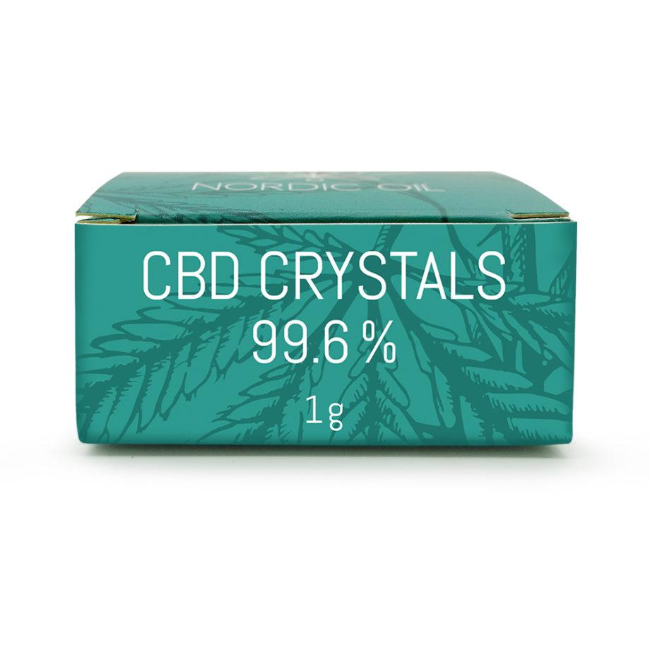 CBD-kristaller (99,6% / 996mg CBD)