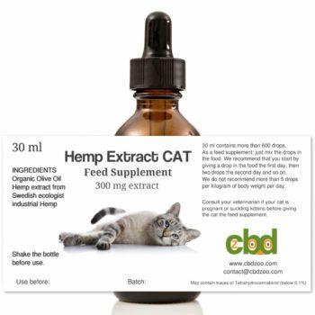 CBD Hemp oil CAT, 30 ml