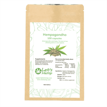 Hempagandha 100 st kapslar, 340 mg Cannabinoider
