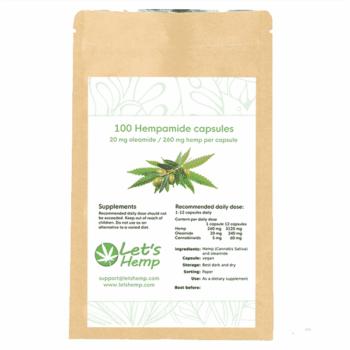 Hempamide 20 mg, 100 kapslar